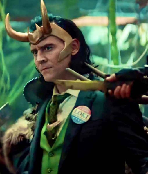Tom Hiddleston Loki 2021 Suit