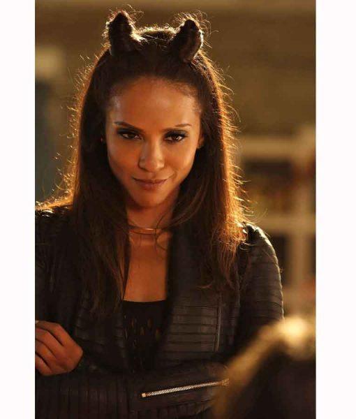 Lucifer Season 02 Mazikeen Black Leather Jacket