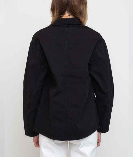Feel Good Season 02 Mae Black Cotton Jacket