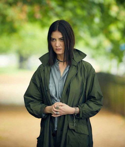 Malin Buska A Discovery of Witches Satu Green Coat