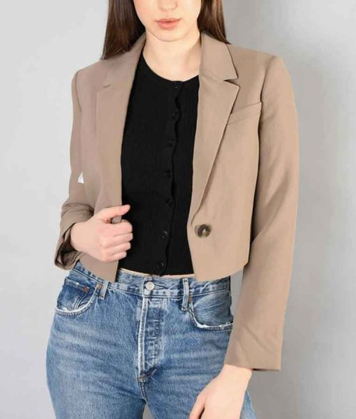 Nancy Drew S02 Bess Cropped Blazer