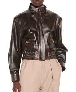 Nancy Drew S02 Leather Bomber Jacket