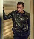 Nick Wechsler Chicago P.D. Season 04 Kenny Rixton Leather Jacket