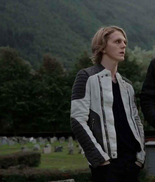 Ragnarok Season 02 Laurits Leather Jacket