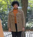 Respect 2021 Carolyn Franklin Houndstooth Peacoat
