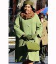 Respect 2021 Jennifer Hudson Green Coat