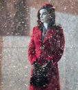 Rooney Mara Nightmare Alley 2021 Molly Red Coat