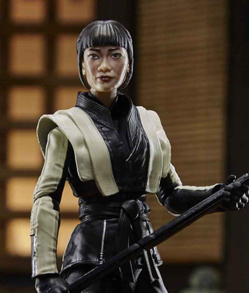 Snake Eyes G.I. Joe Origins Akiko Leather Jacket