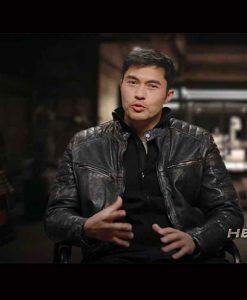 Snake Eyes G.I. Joe Origins Henry Golding Leather Jacket