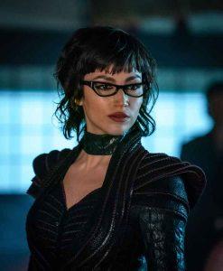 Snake Eyes G.I. Joe Origins The Baroness Black Leather Jacket
