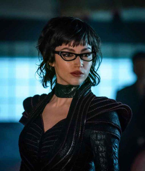 Snake Eyes G.I. Joe Origins The Baroness Leather Jacket