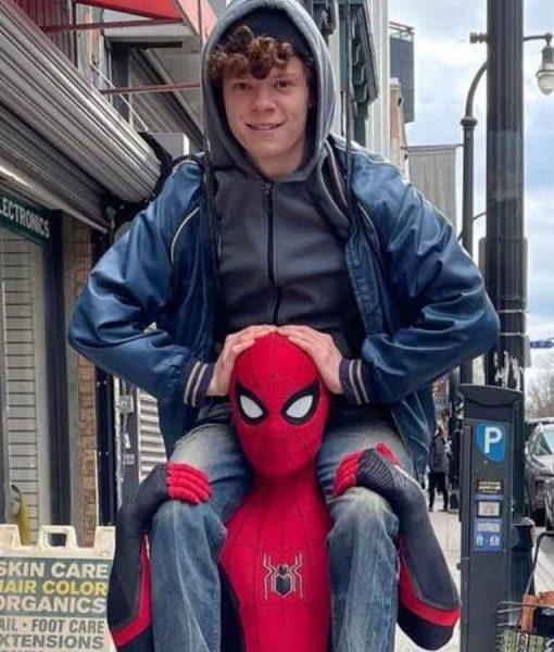 Spider-Man No Way Home Drug Dealer Bomber Jacket