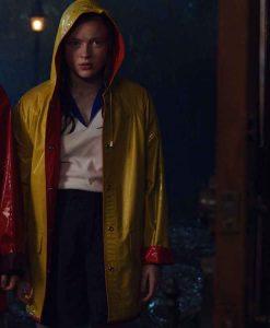 Stranger Things Season 04 Max Mayfield Rain Coat