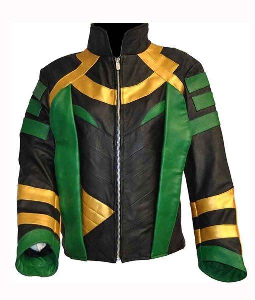 Tom Hiddleston Loki Leather Jacket