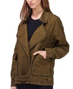 Wilfred Free Rayder Linen Cotton Blend Jacket