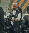 Çukur Season 04 Sahram Black Leather Vest