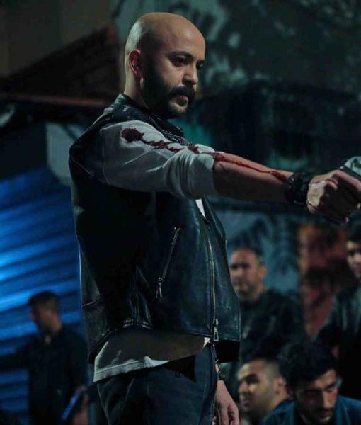 Çukur Season 04 Sahram Leather Vest