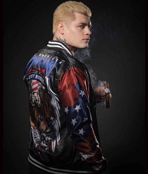 AEW Double or Nothing Cody Rhodes Jacket