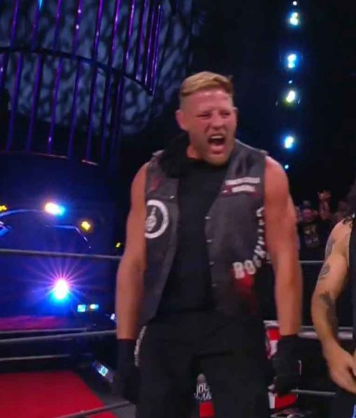 AEW Double or Nothing Match Black Vest