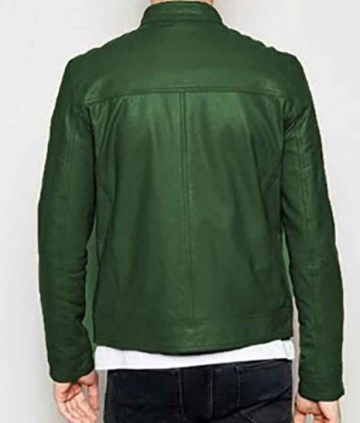 Adam Driver Annette 2021 Henry Leather Jacket