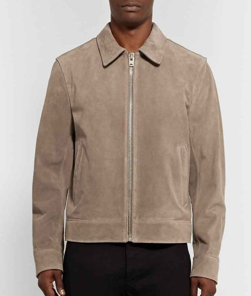 Dynasty Season 04 Liam Ridley Suede Leather Jacket