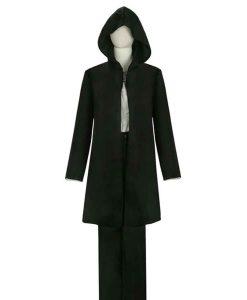 Attack on Titan Eren Yeager Black Hooded Coat