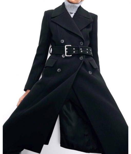 Meagan Tandy Batwoman S02 Sophie Moore Black Coat