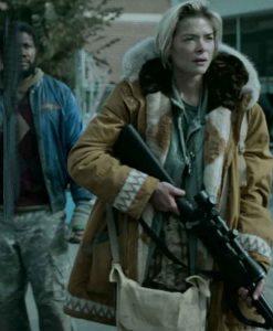 Black Summer Season 02 Rose Brown Hooded Jacket