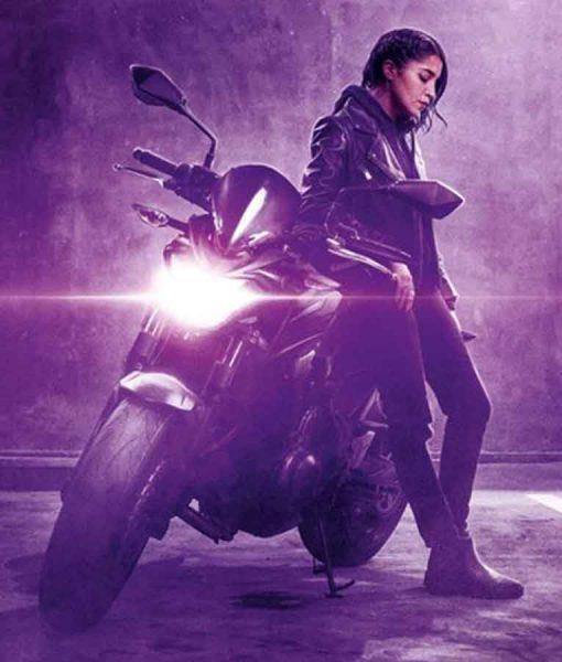 Callista How I Became a Super Hero Moto Leather Jacket