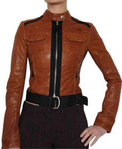 Crime Scene Investigation Catherine Willows Leather Jacket