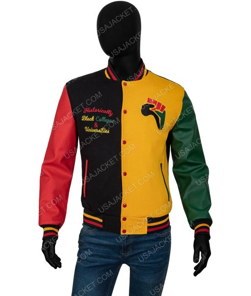 Donovan Mitchell HBCU Pride Bomber Jacket