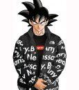 Goku Drip Puffer Jacket