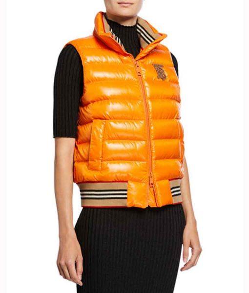Elizabeth GilliesDynasty S03 Fallon Carrington Puffer Vest