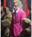 Ed Sheeran Bad Habits Pink Suit