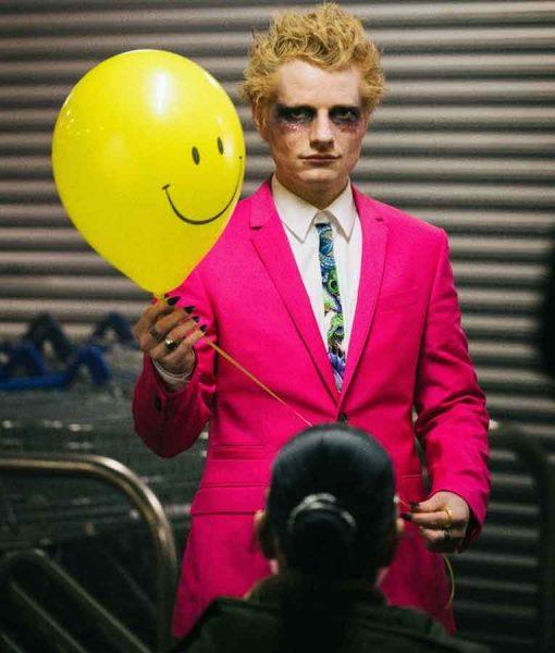 Ed Sheeran Pink Suit