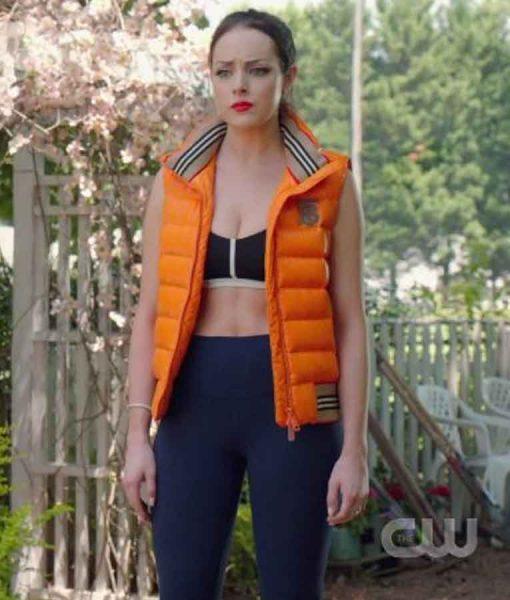 Dynasty Season 03 Fallon Carrington Puffer Vest