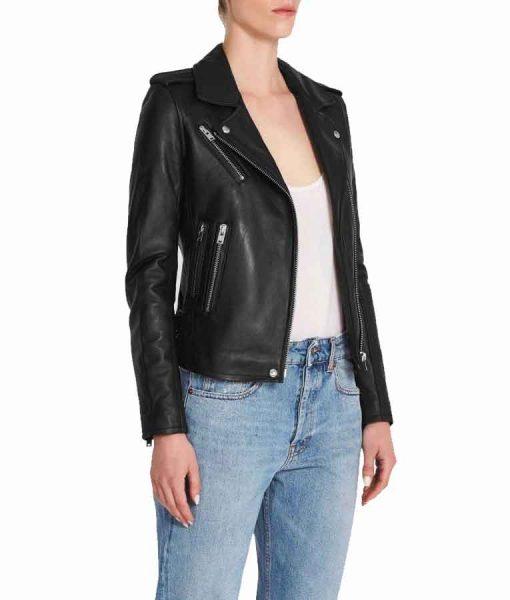 Superman and Lois 2021 Lois Lane Black Leather Jacket