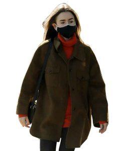 Emily-In-Paris-Season-02-Emily-Cooper-Brown-Jacket