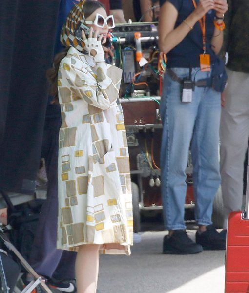 Lily Collins Emily in Paris Season 02 Emily Cooper Coat