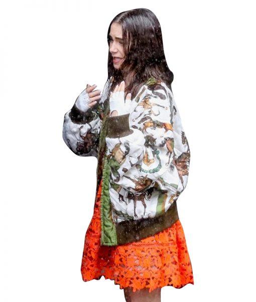 Emily in Paris Season 02 Lily Collins Bomber Jacket
