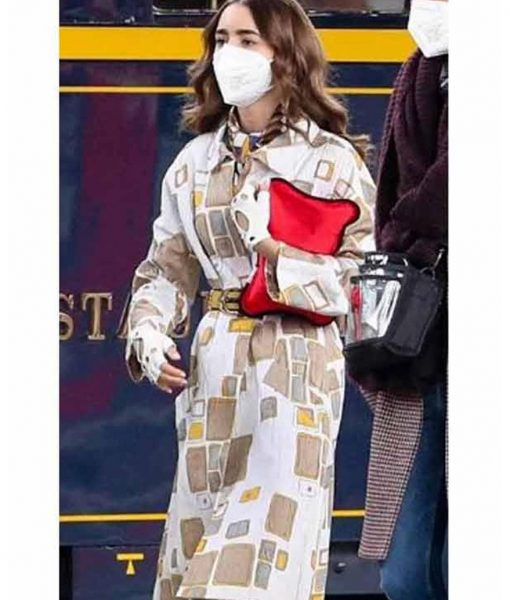 Emily in Paris Season 02 Lily Collins Coat