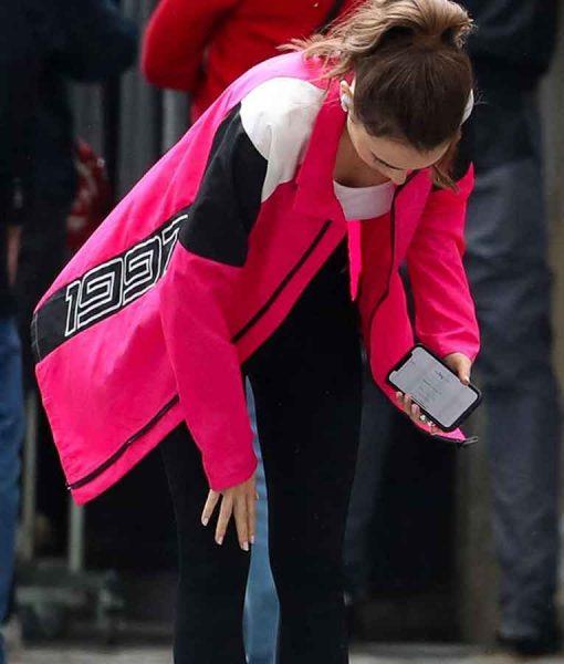 Emily in Paris Season 02 Emily Cooper Pink Jacket