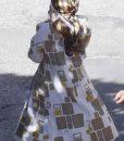 Emily in Paris Season 02 Lily Collins Printed Coat