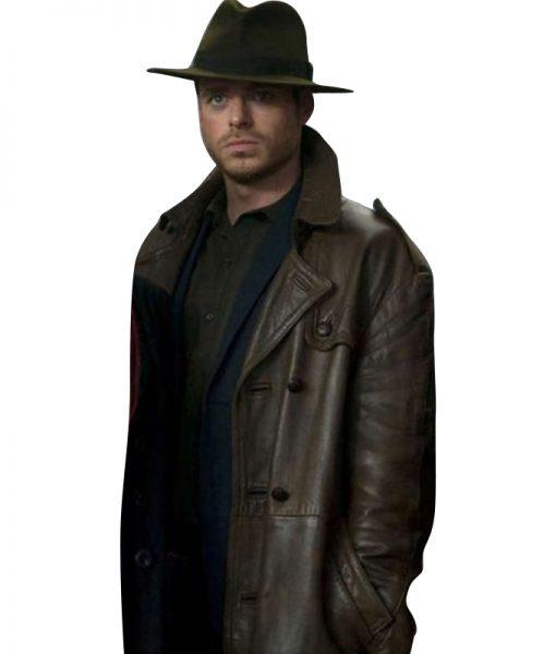 Eternals-Ikaris-Brown-Leather-Coat