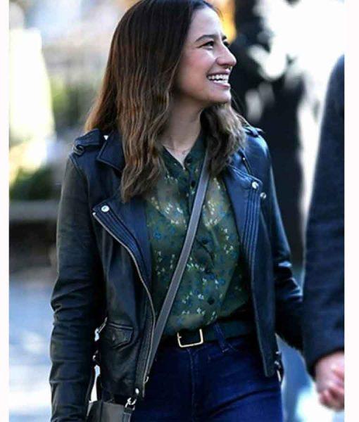 False Positive Lucy Leather Jacket