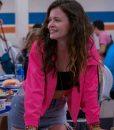 Ginny & Georgia 2021 Maxine Baker Pink Jacket With Hood