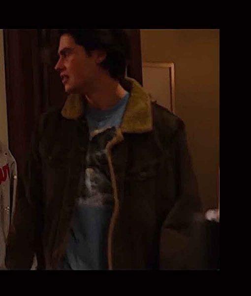 Ginny & Georgia Marcus Baker Shearling Jacket