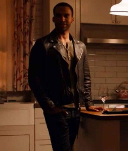 Ginny & Georgia Zion Leather Jacket