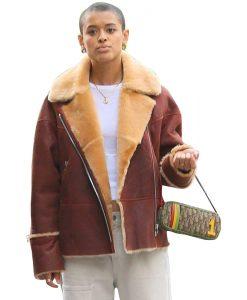 Gossip-Girl-2021-Jordan-Alexander-Shearling-Jacket