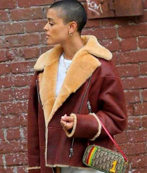 Gossip Girl 2021 Jordan Alexander Leather Jacket